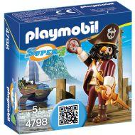 Playmobil - Super 4 - piratul cu barba