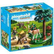 Playmobil - Teren impadurit si animale