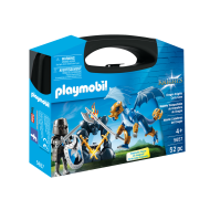 Playmobil - Set portabil Cavaleri Dragon