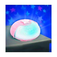 Proiector cu sunete si lampa de veghe Infantino Roz