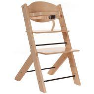 Scaun masa bebe din lemn reglabil Treppy Natur