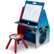 Delta Children Set 2 in 1 organizator, birou cu tablita si scaun Mickey Mouse