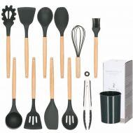 Set 11 ustensile bucatarie din silicon Graphite, include tel, spatula, lingura