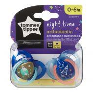 Set 2 suzete Ortodontice de Noapte Tommee Tippee 0-6 Luni