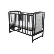 Baby Needs - Patut din lemn Timmy 120x60 cm