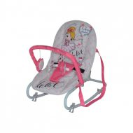 Lorelli - Sezlong cu spatar reglabil Top Relax Pink ballet