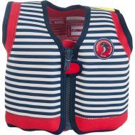 Konfidence - Vesta inot copii cu sistem de flotabilitate ajustabil The Original blue stripe 1,5-3 ani