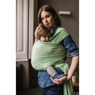 Boba - Wrap elastic din bambus pentru purtatea bebelusilor Nile green