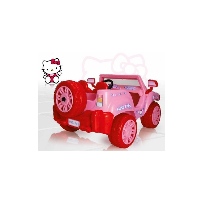 Injusa - Masinuta electrica Hello Kitty 12V -