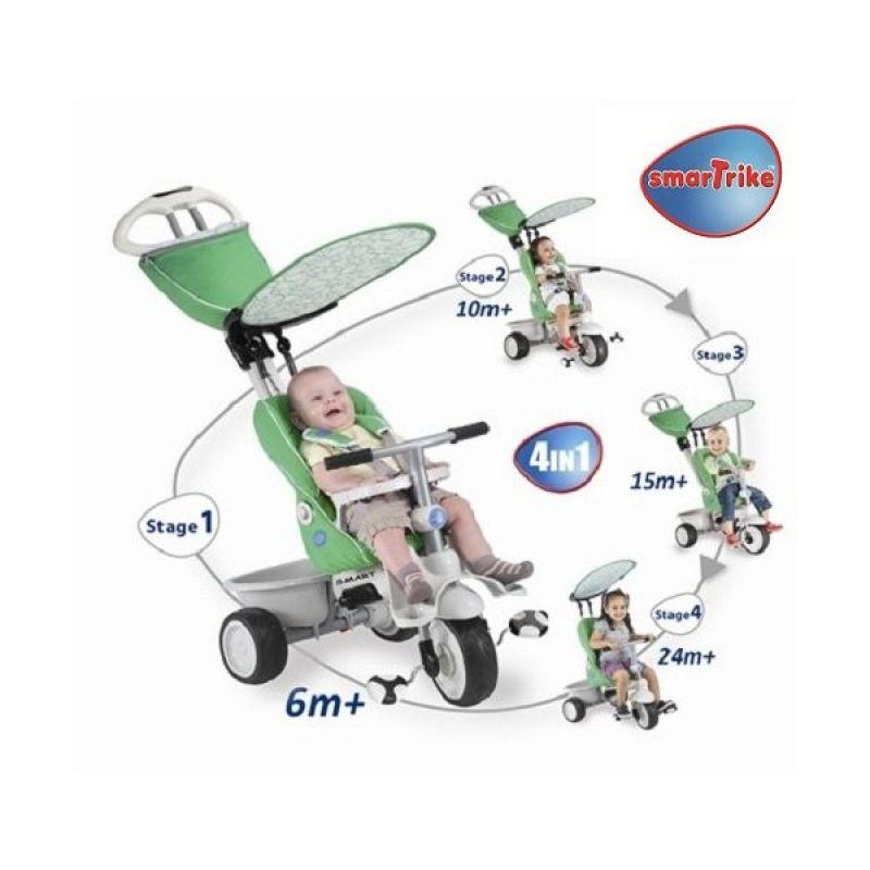 Smart Trike Tricicleta Recliner Stroller 4 In 1