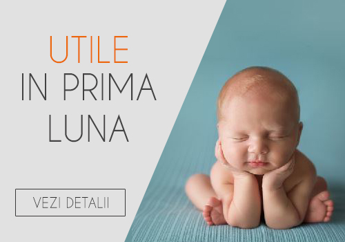Articole bebelusi utile in prima luna