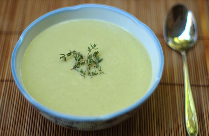 Supa crema de telina raw